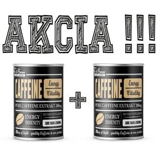 1+1 Zadarmo: Caffeine - FitBoom 100 tbl. + 100 tbl.