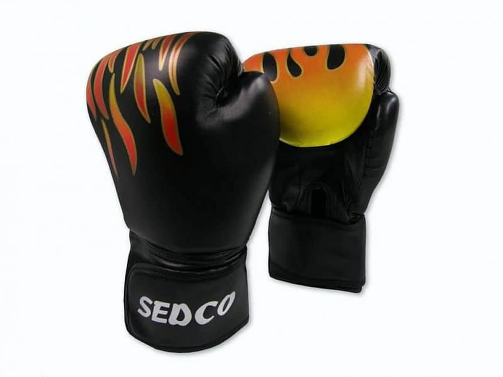 Sedco Box rukavice SEDCO TRAINING FIRE 14 OZ - Černá
