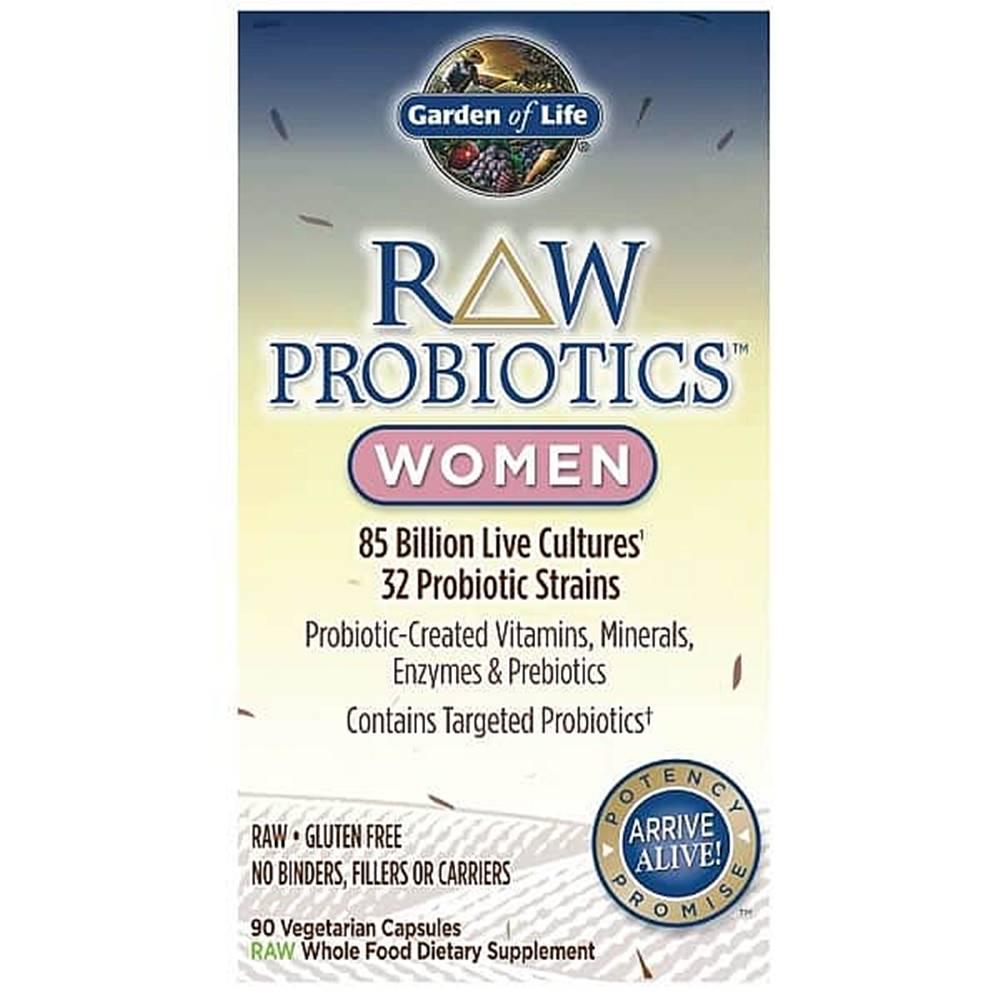 Garden of life RAW Probiotika pro ženy - 85miliard CFU