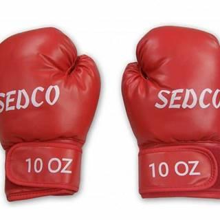 Box rukavice PU TQ 10OZ - Červená