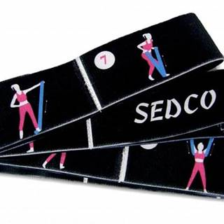 Pás YOGA SEDCO STRETCH STRAP popruh 80x4 cm