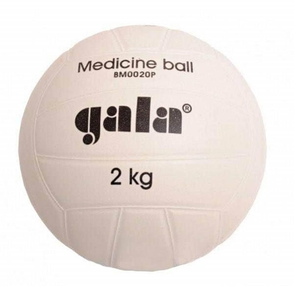 Gala Míč medicinbal plastový 2 kg GALA barva bílá