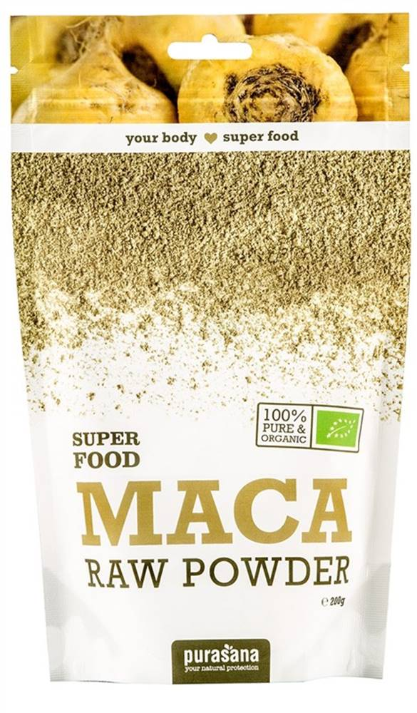 Purasana Purasana Maca Powder BIO 200 g