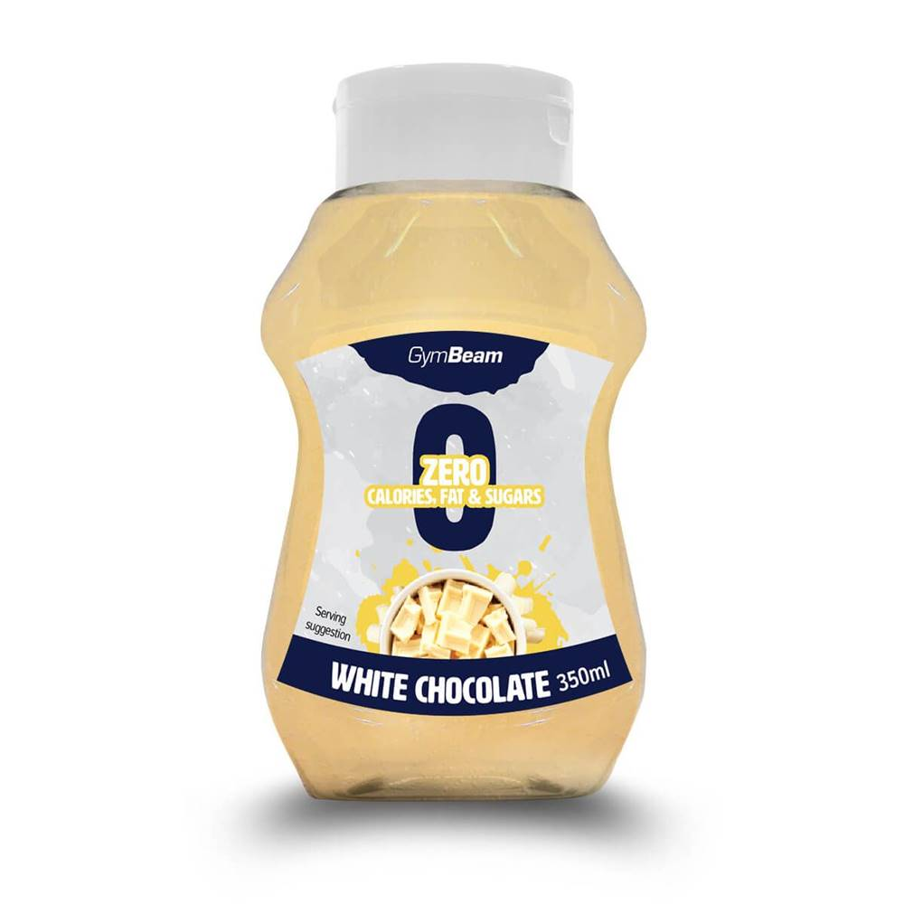 GymBeam GymBeam White Chocolate 350 ml