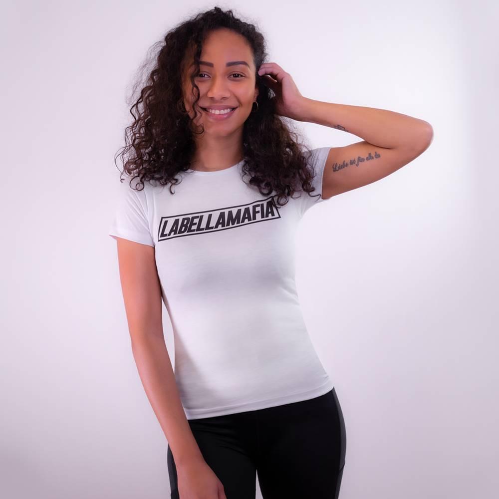 LABELLAMAFIA LABELLAMAFIA Dámske tričko Mesh White  S