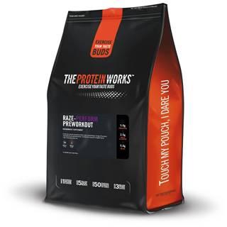 TPW Raze-Perform™ Preworkout 250 g blue raspberry juice