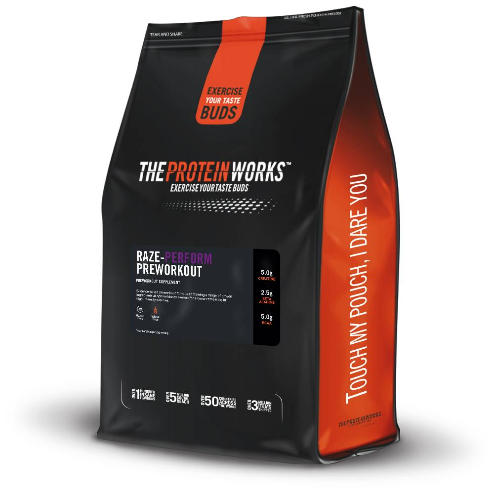 The Protein Works TPW Raze-Perform™ Preworkout 250 g classic cola
