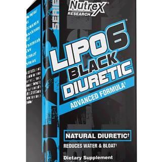 Lipo 6 Black Diuretic - Nutrex 80 kaps.