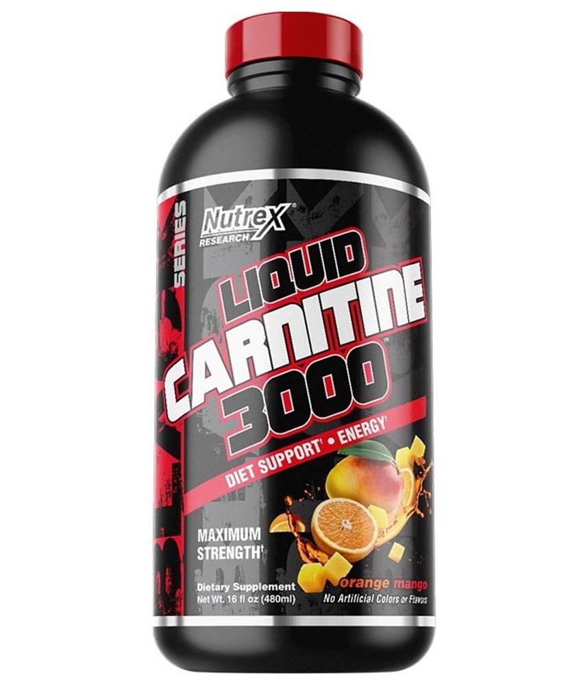 Nutrex Liquid Carnitine 3000 - Nutrex 480 ml. Berry Blast