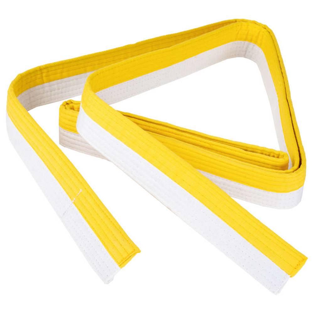 OUTSHOCK OUTSHOCK Opasok 2,5 M Bielo-žltý