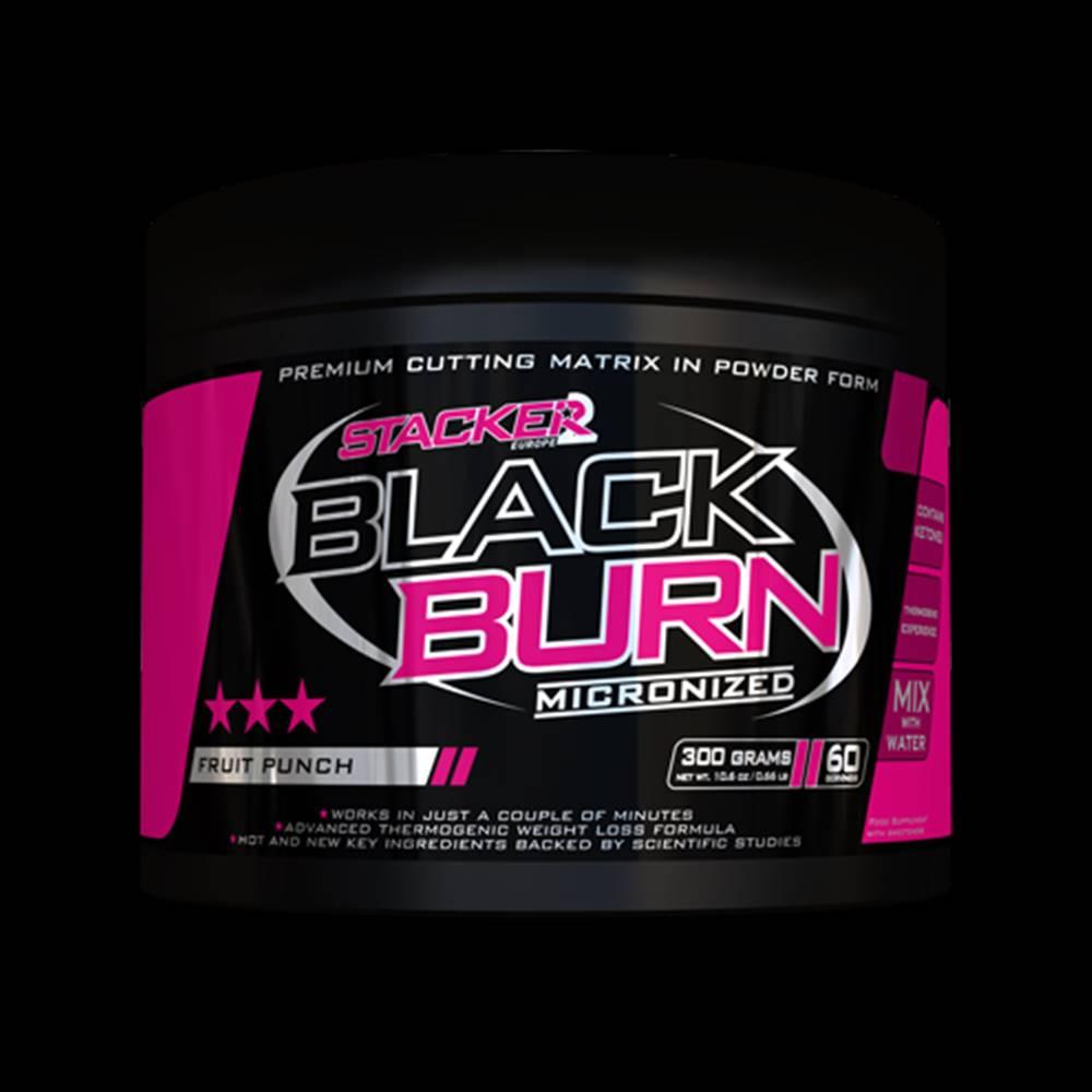 Stacker2 Stacker2 Spaľovač tukov Black Burn Micronized 300 g ovocný punč
