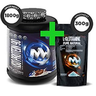 Iso Protein 90 + L-Glutamine Pure Natural ZDARMA! čokoláda