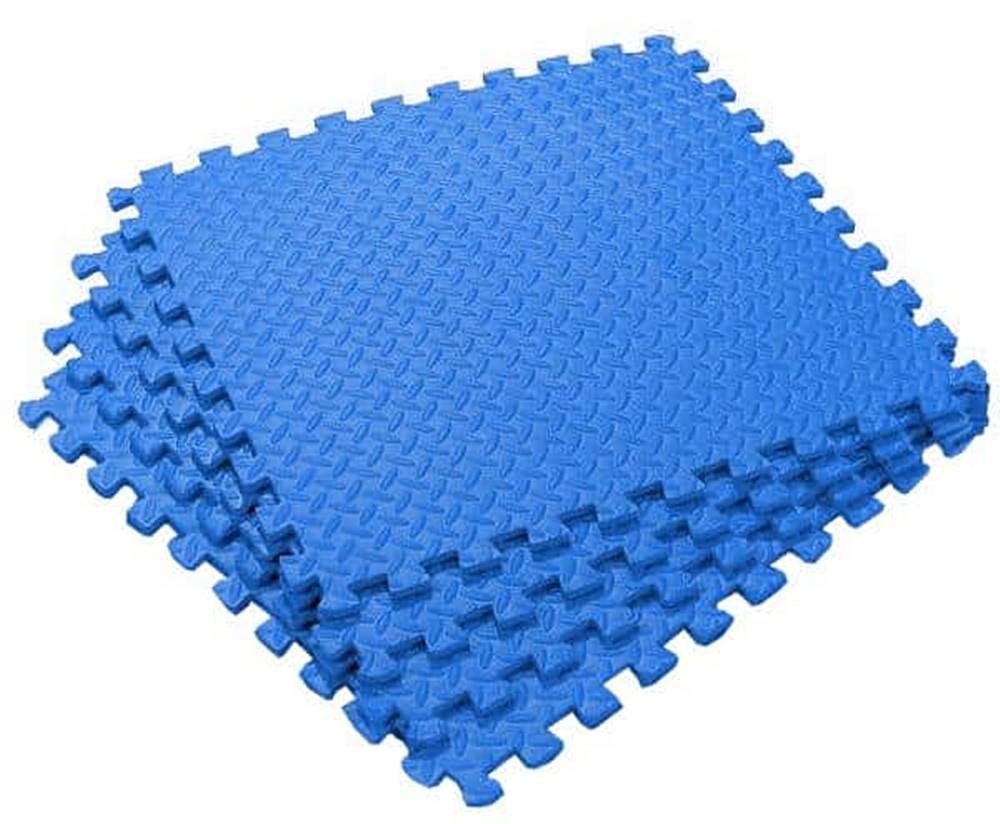Sedco Podložka EVA BLUE MAT 60x60x1,2cm - sada 4ks - Modrá