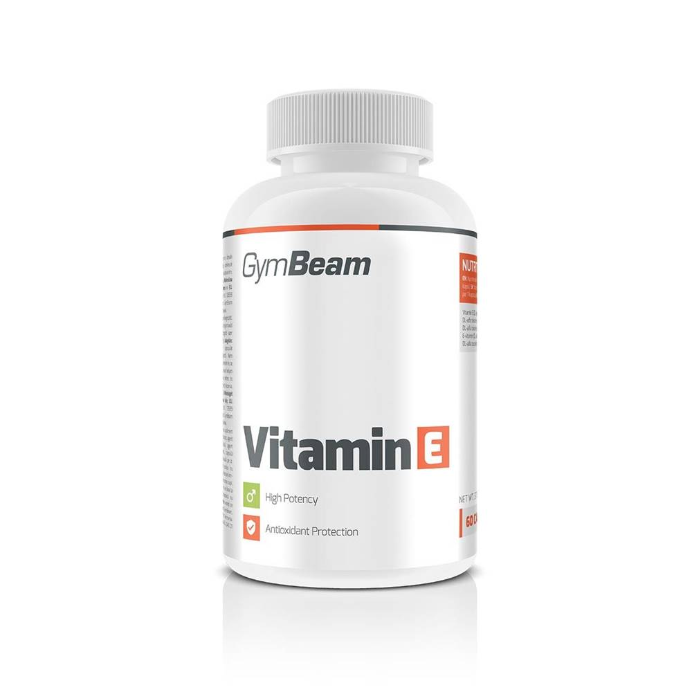 GymBeam GymBeam Vitamín E 60 kaps