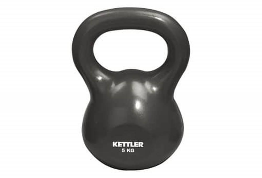 Kettler Kettler Zátěžový míč Kettlebel s držadlem 5kg 2,5 kg oranžová