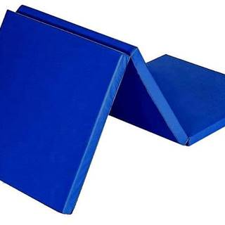 Žíněnka skládací třídílná SEDCO 180x60x4,5 cm - Tmavě modrá