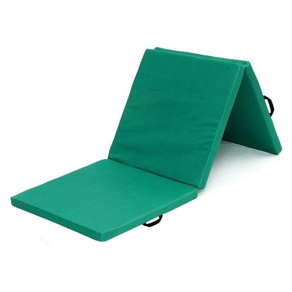 Sedco Žíněnka skládací třídílná SEDCO 180x60x5 cm - Zelená