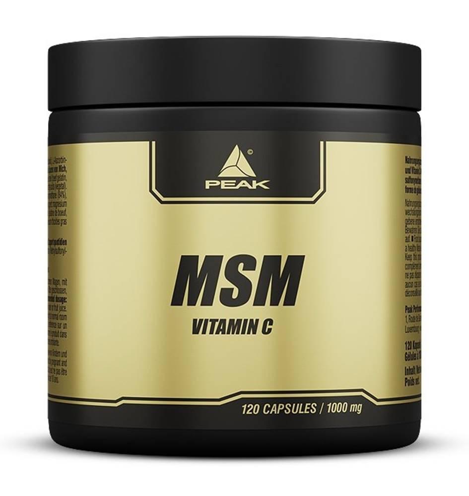 Peak Performance MSM + Vitamin C - Peak Performance 120 kaps.