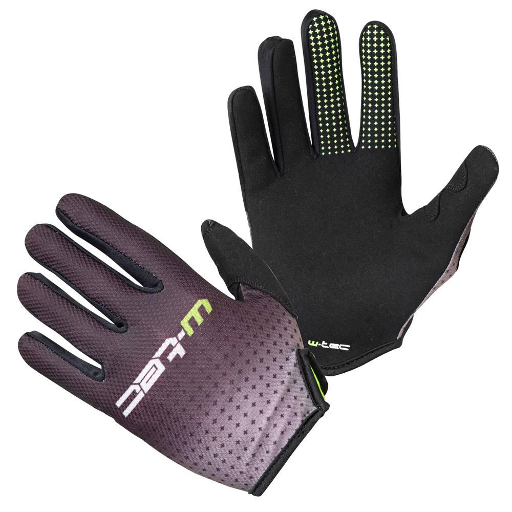 W-Tec Motokrosové rukavice W-TEC Montmelo čierno-zelená - S