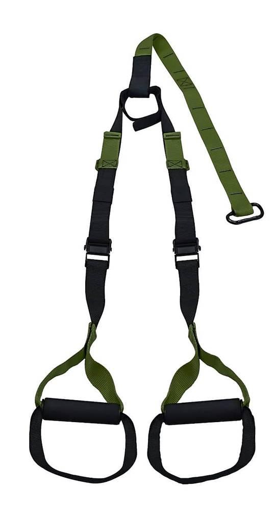 Lifefit Závěsný posilovací systém LIFEFIT TRAINER nastavitelný, army