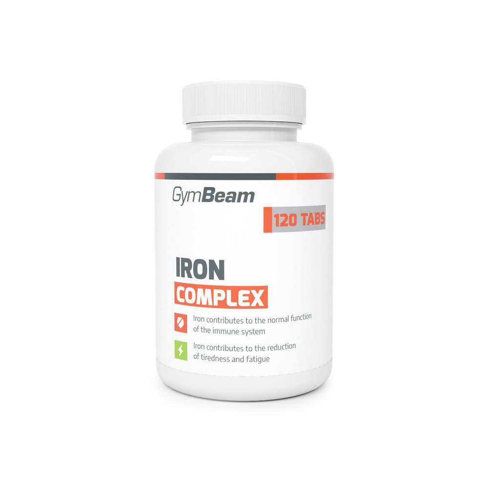 GymBeam GymBeam Iron complex 120 tab.