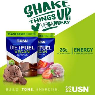 Diet Fuel Vegan - USN 880 g Chocolate