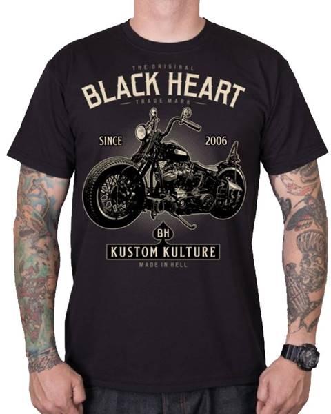 Tričko BLACK HEART
