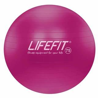 Gymnastický míč LIFEFIT ANTI-BURST 75 cm, bordó