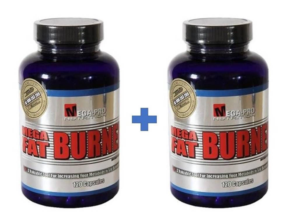 Mega-Pro Nutrition 1+1 Zadarmo: Mega Fat Burner - Mega-Pro Nutrition 120 kaps. + 120 kaps.