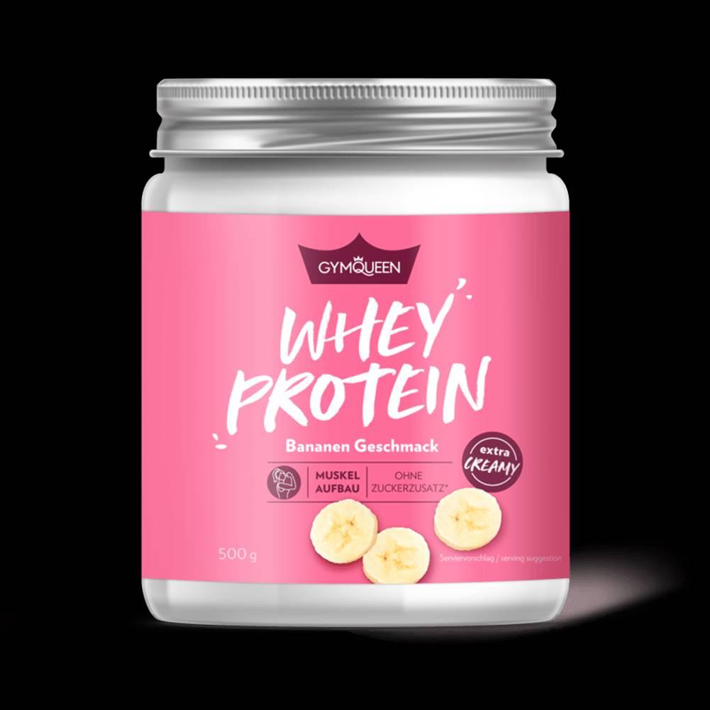 GYMQUEEN GYMQUEEN Whey Proteín 500 g malinový jogurt