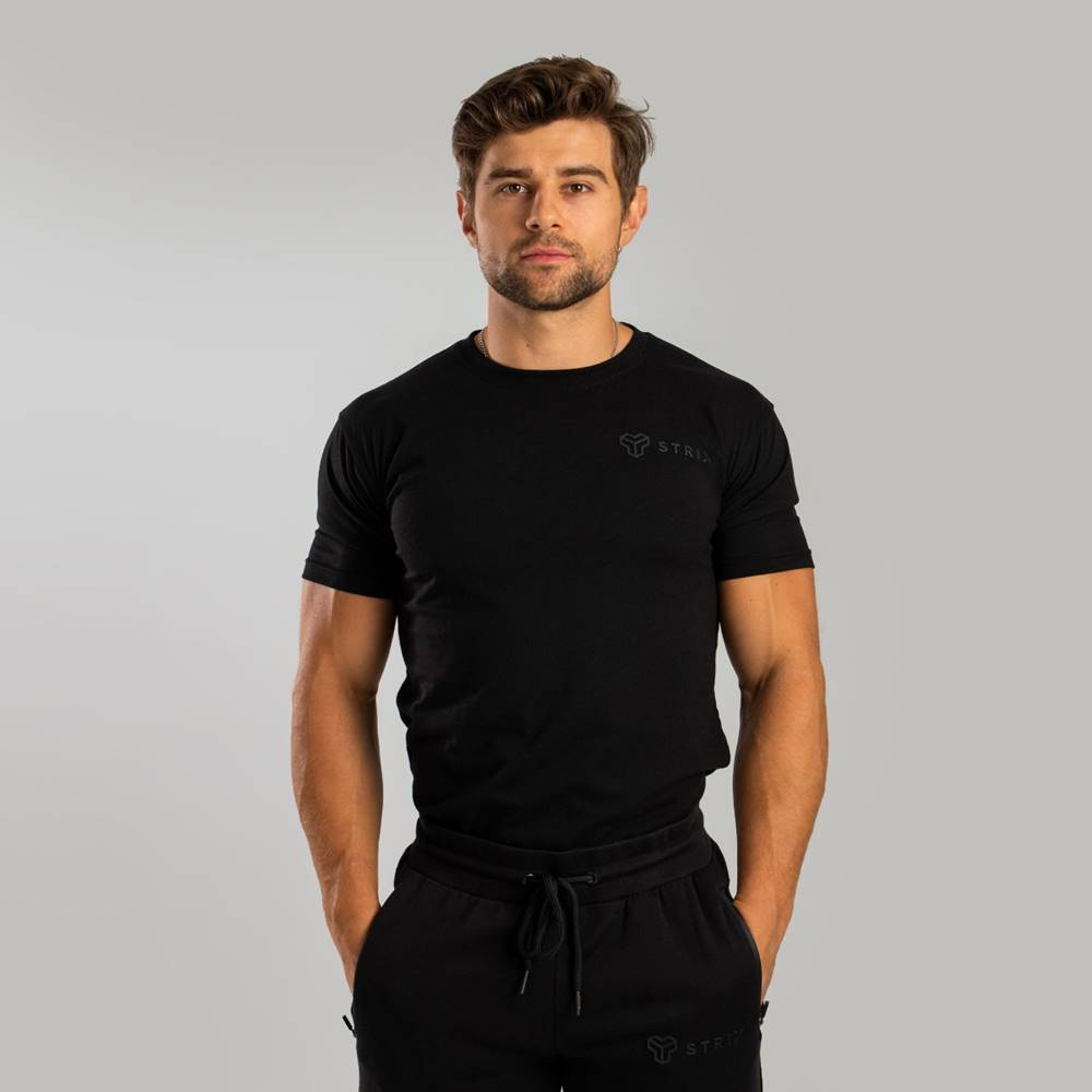 STRIX STRIX Tričko Essential black  S