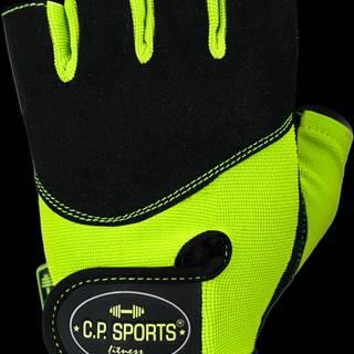C.P. Sports Fitness rukavice Iron neónové  XS