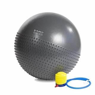 Masážní gymnastický míč HMS YB03 75 cm, černý
