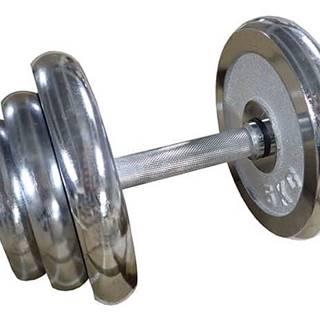 ACRA Činka nakládací jednoruční chromovaná - 20 kg - 25 mm
