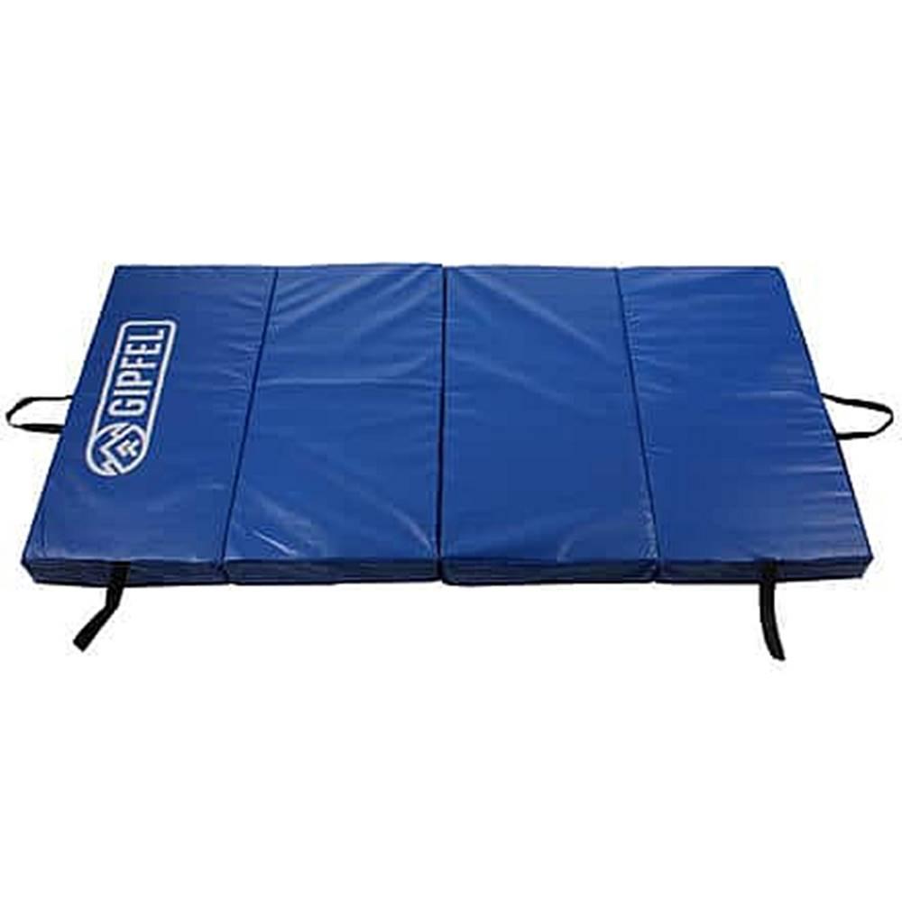 Gipfel Crash-Mat skládací gymnastická žíněnka modrá
