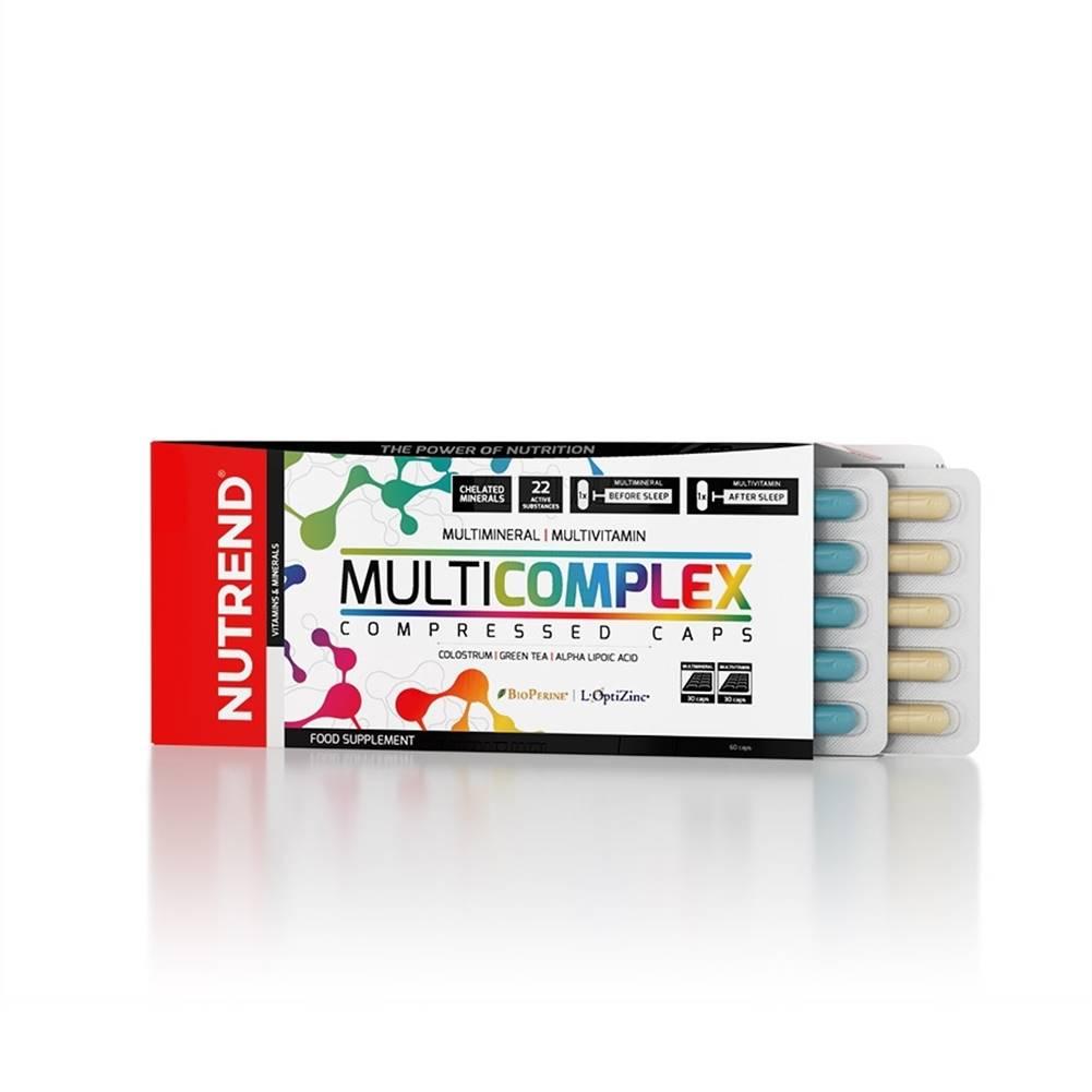 Nutrend Vitamíny a minerály Nutrend Multicomplex Compressed Caps 60 kapsúl