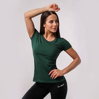 GymBeam Dámske tričko Basic Green  XXL