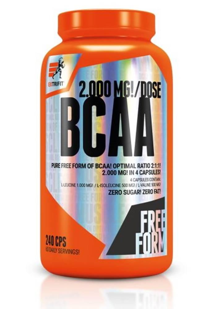 Extrifit BCAA 2000 mg Optimal Ratio 2:1:1 - Extrifit 240 kaps.