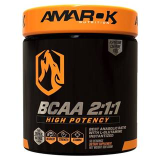 Black Line BCAA 2:1:1 - Amarok Nutrition 500 g Tropical