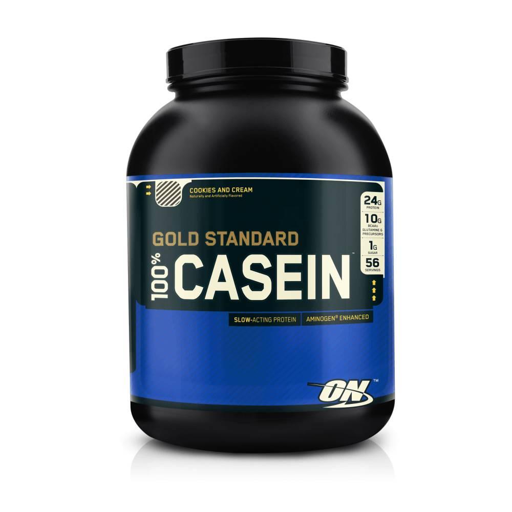 Optimum Nutrition Optimum Nutrition 100% Casein Protein 1818 g krémová vanilka