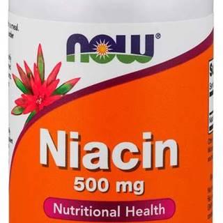 NOW Foods Niacin (Vitamín B3) 100 tab.
