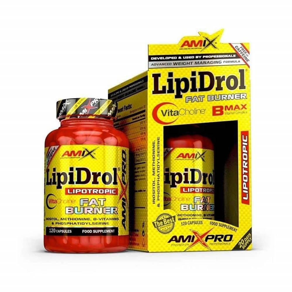 Amix Nutrition Amix LipiDrol Fat Burner Balení: 120cps