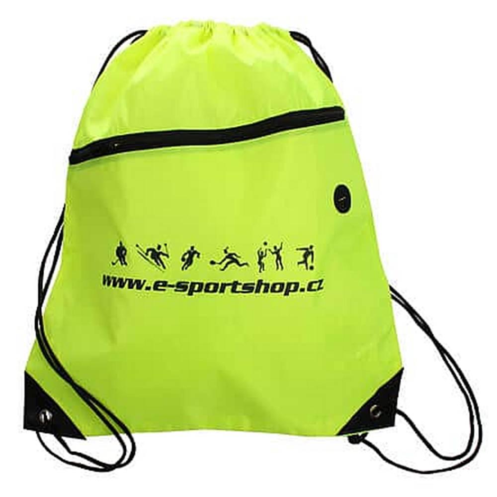 Merco Yoga Bag Logo sportovní taška fluo zelená