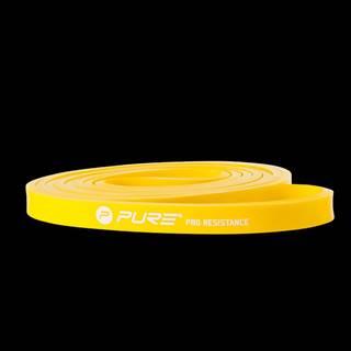 Odporová fitness aerobic guma P2I light - Žlutá