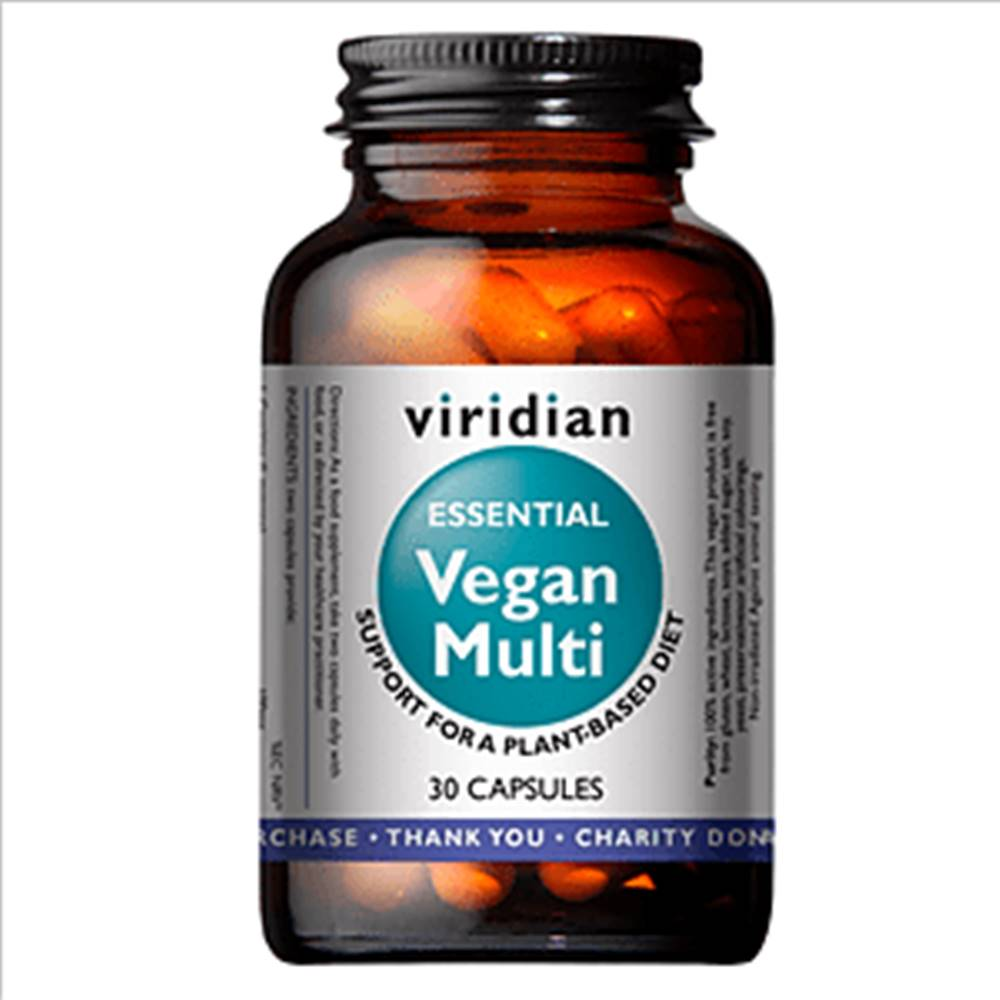 Viridian Vegan Multi 30 cps...