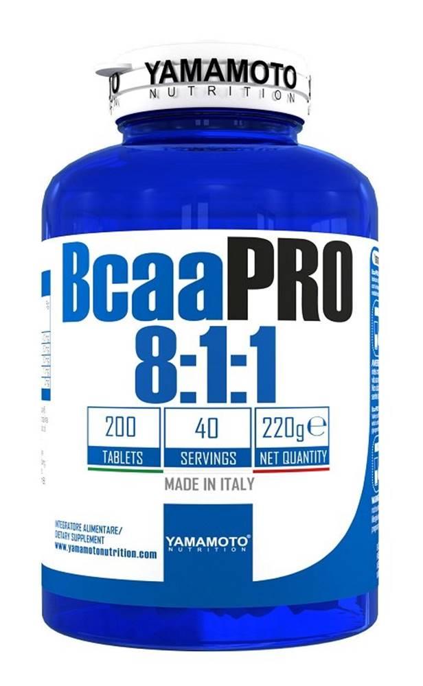 Yamamoto Bcaa PRO 8:1:1 Kyowa Quality - Yamamoto  200 tbl.