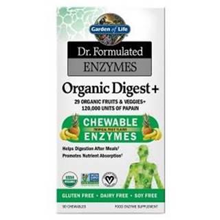 Dr. Formulated Organické Enzymy na podporu trávení - s příchutí tropického ovoce