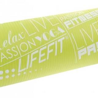 Podložka LIFEFIT YOGA MAT EXKLUZIV , 100x60x1cm, světle zelená