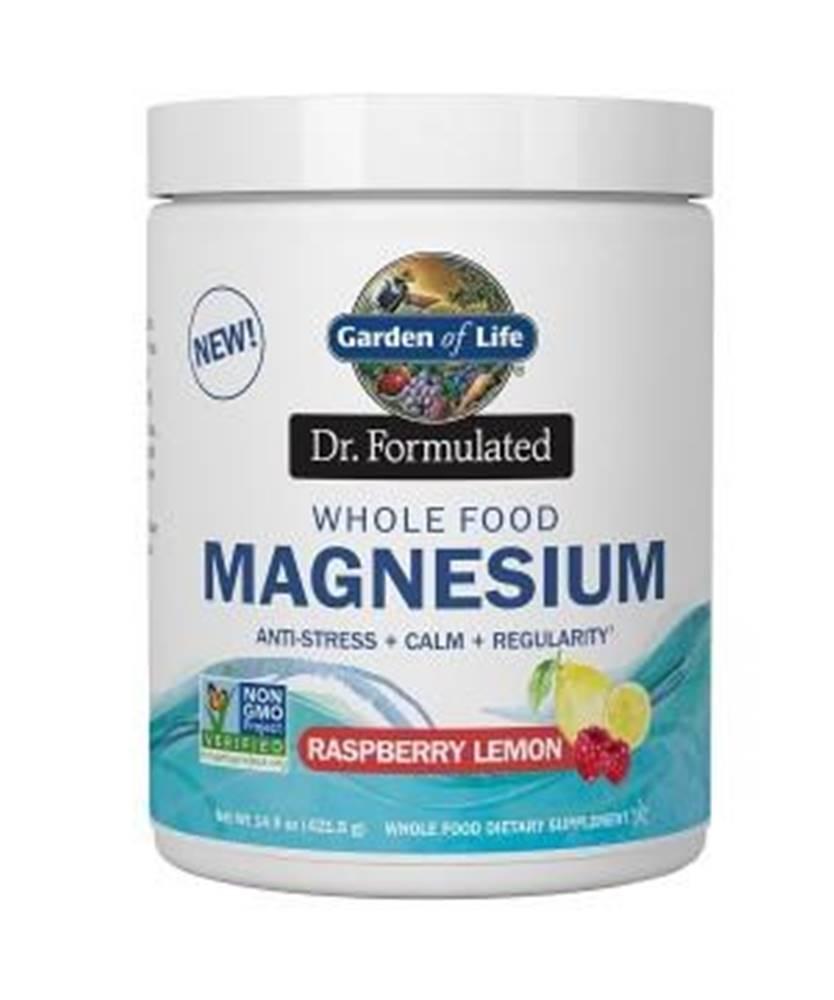 Garden of life Magnesium Dr. Fomulated - Hořčík - malina - citron 421,5g