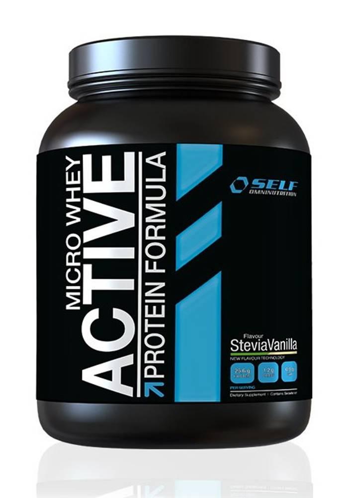 Self OmniNutrition Micro Whey Active Stevia od Self OmniNutrition 1000 g Jahoda